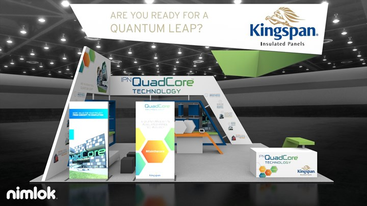 Kingspan Panels - 20x30 - trade show exhibit