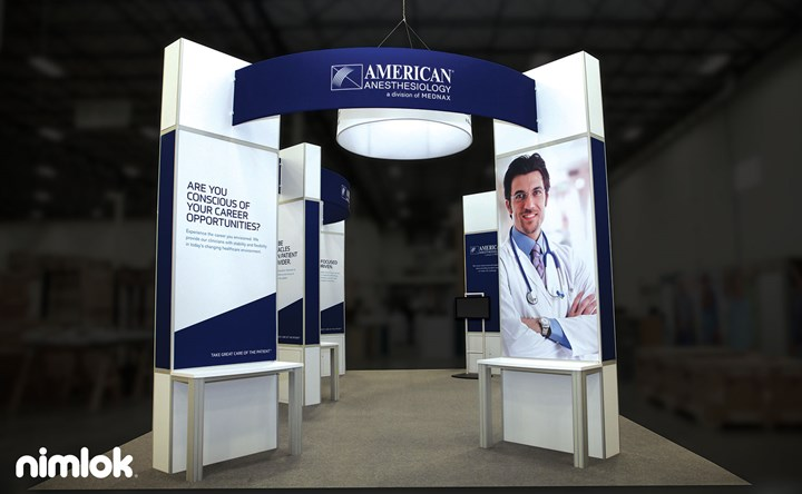 Mednax - 20x30 - trade show exhibit