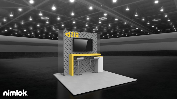 Nimlok - 10x20 - trade show exhibit