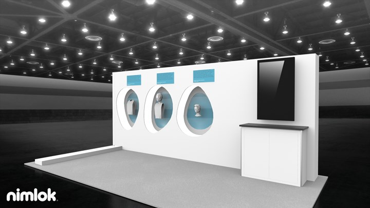 Dale Medical - 10x20 - trade show exhibit