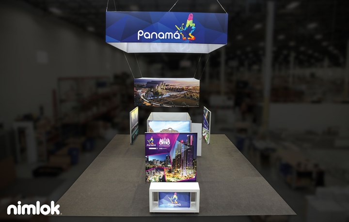 Panama Canal - 30x40 - trade show exhibit