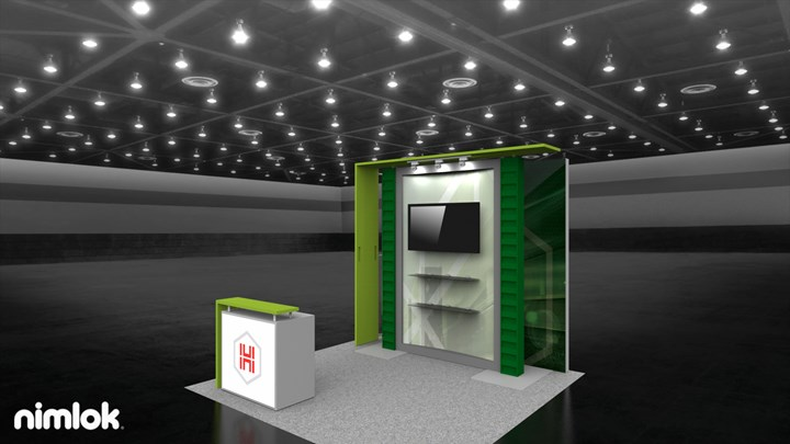Hub Group/ Unyson - 10x20 - trade show exhibit