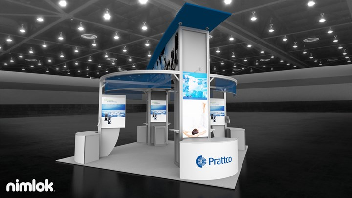 Prattco - 20x20 - trade show exhibit