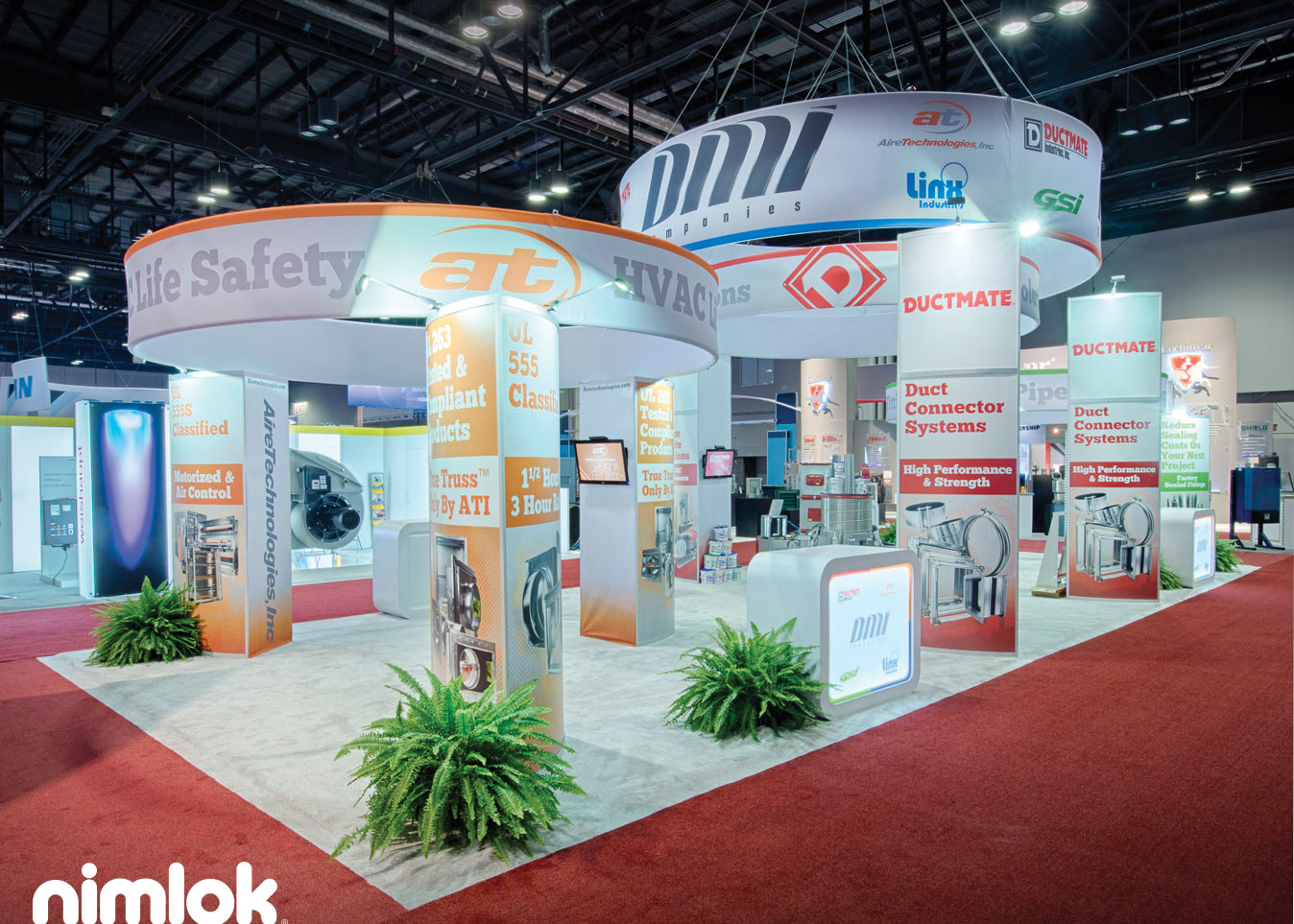 DMI Industries' Rental Trade Show Exhibit