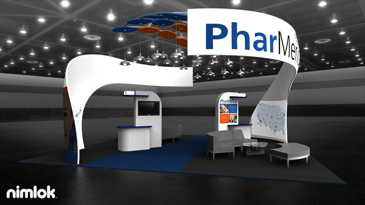 Pharmerica - 30x30 - trade show exhibit