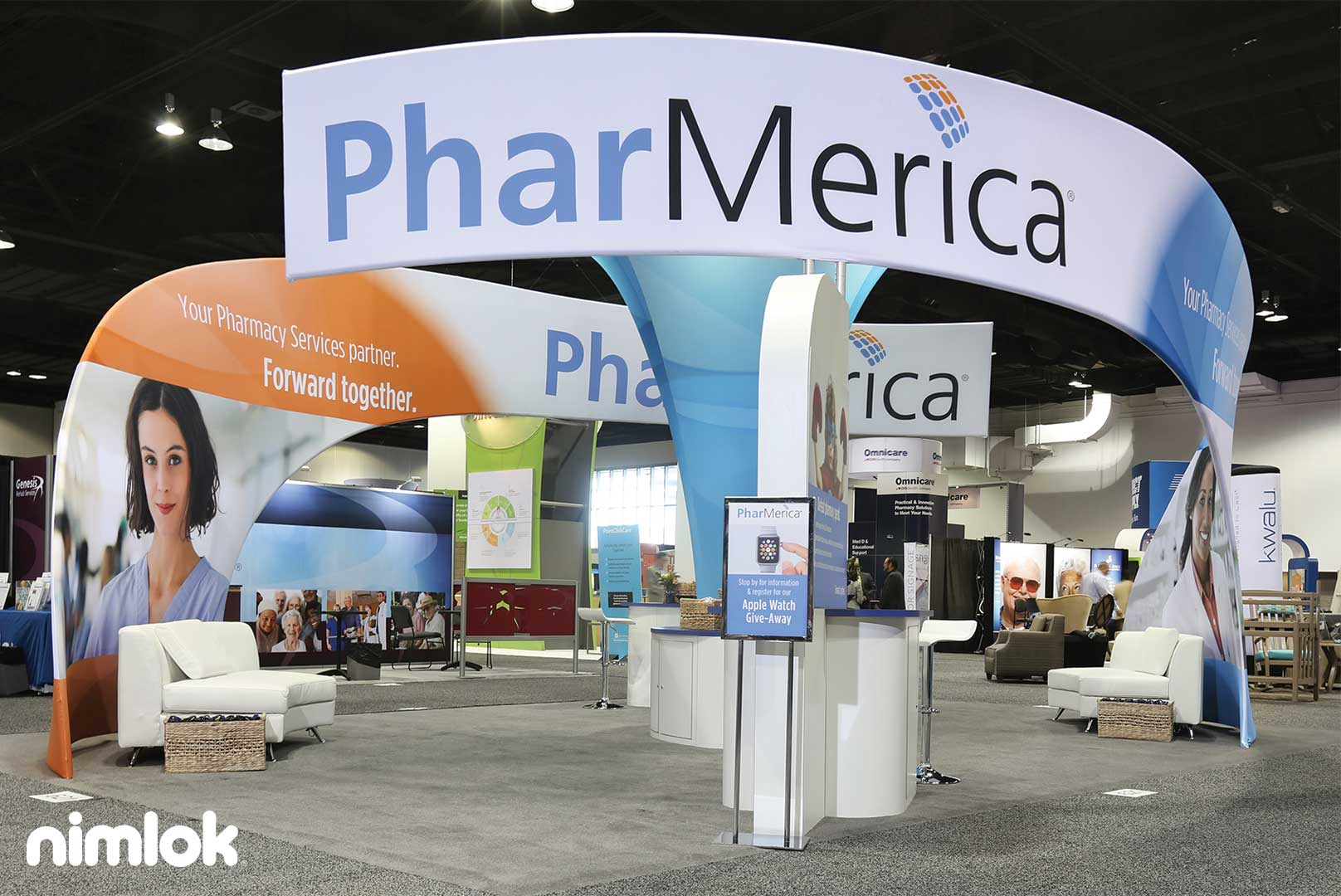 PharMerica's Rigging-Free Exhibit