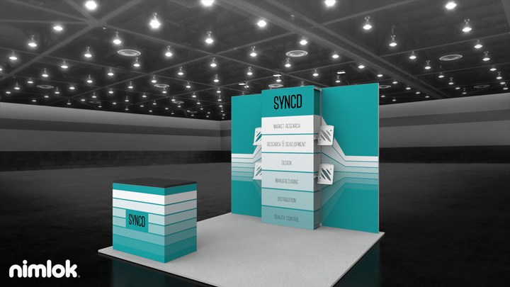 Nimlok - 10x10 - trade show exhibit