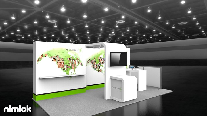 Prometric - 10x20 - trade show exhibit