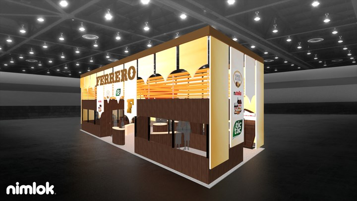 Ferrero USA - 20x50 - trade show exhibit