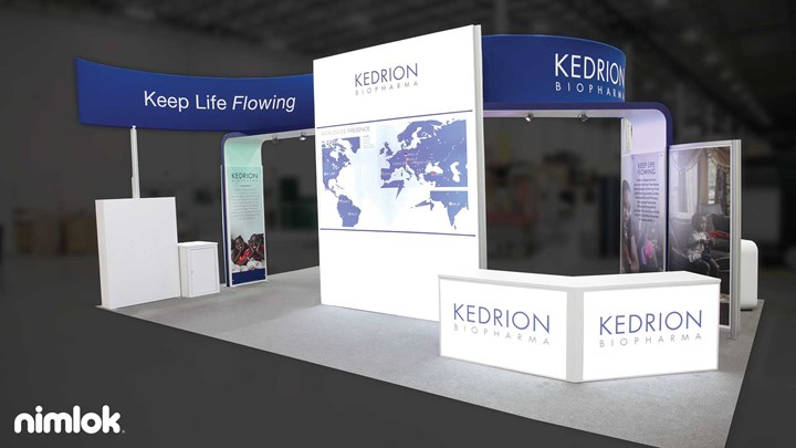 Kedrion - 20x30 - trade show exhibit