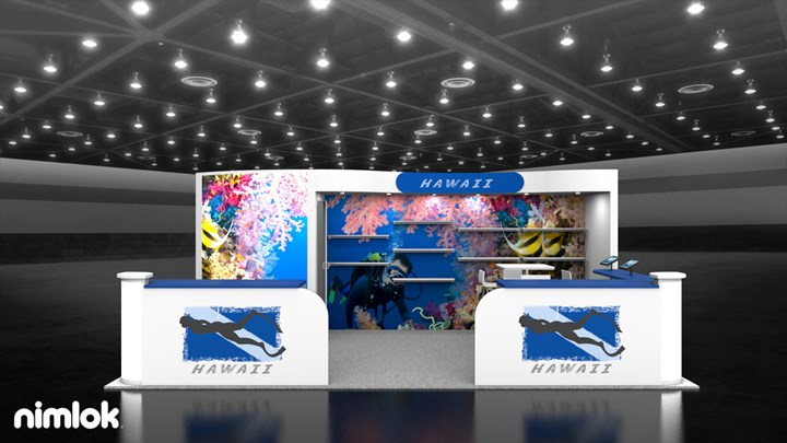 Hawaii - 10x20 - trade show exhibit