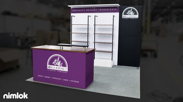IFI Gourmet - 10x20 - trade show exhibit