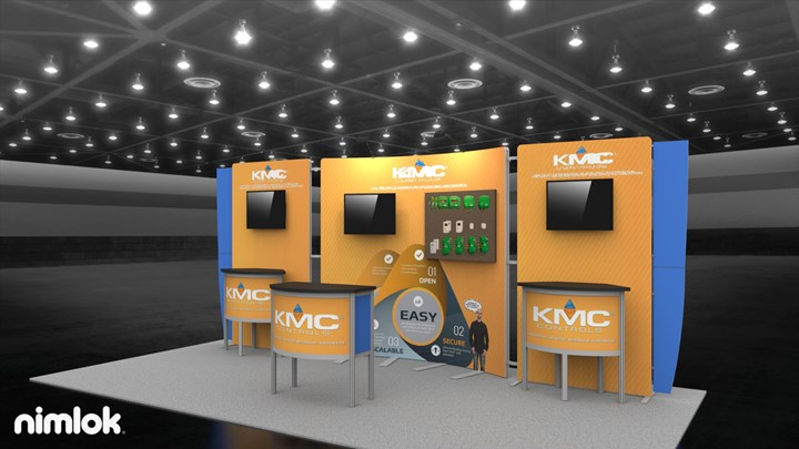 KMC Controls - 10x20 - trade show exhibit
