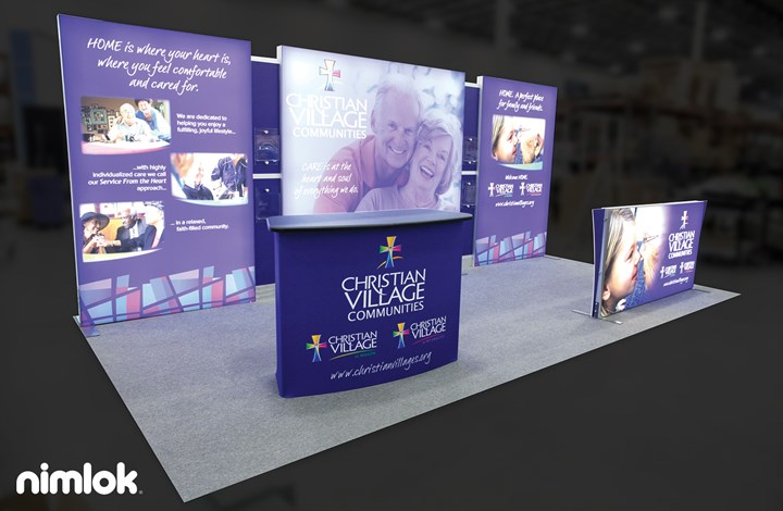 Christian Benevolent - 10x20 - trade show exhibit