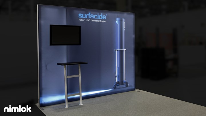 Surfacide - 20x20 - trade show exhibit