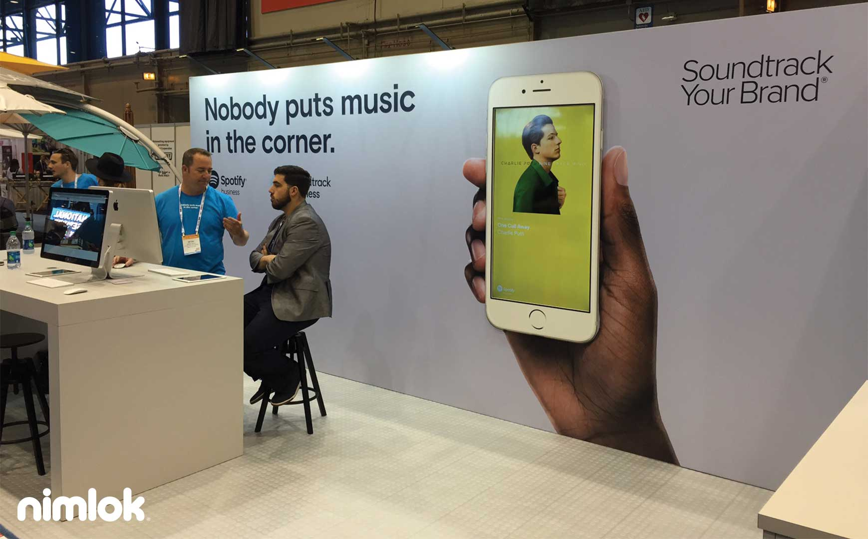 Soundtrack Your Brand's Creative Inline Exhibit