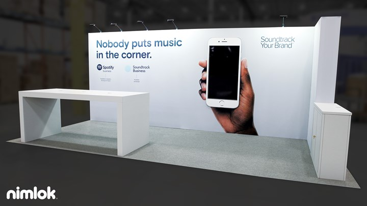 Soundtrack Your Brand - 10x20 - trade show exhibit