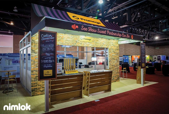 Promega - 20x30 - trade show exhibit