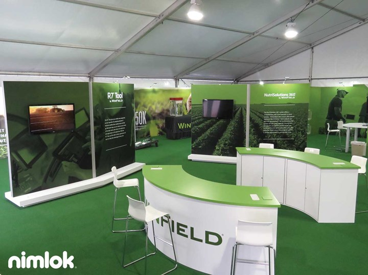 Winfield - 64x64 - trade show exhibit