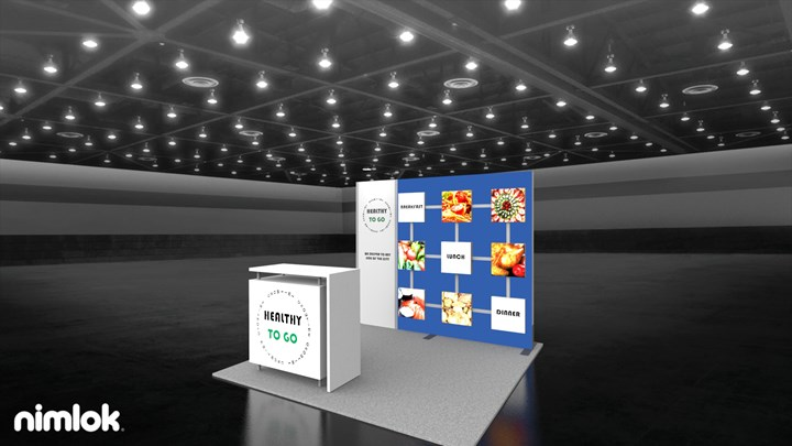 Healthy To Go - 10x10 - trade show exhibit