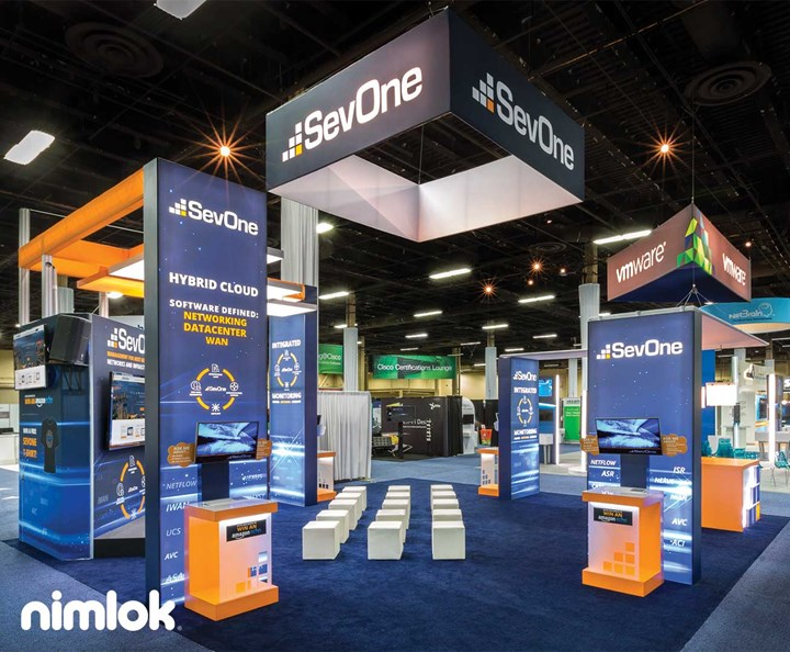 SevOne - 30x30 - trade show exhibit
