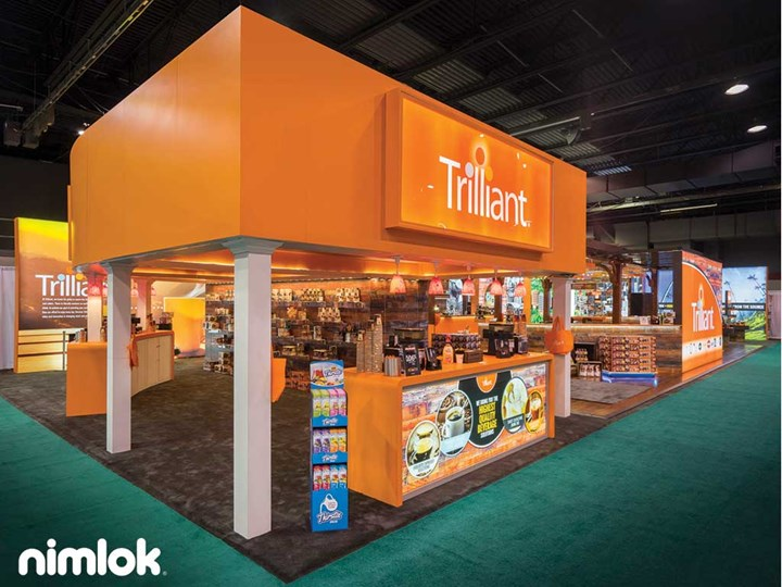 Trilliant - 40x100 - trade show exhibit