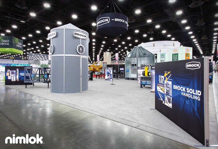 Brock Systems - 40x40 - trade show exhibit