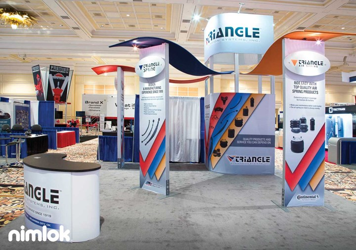 Triangle Suspension Systems - 20x20 - trade show exhibit