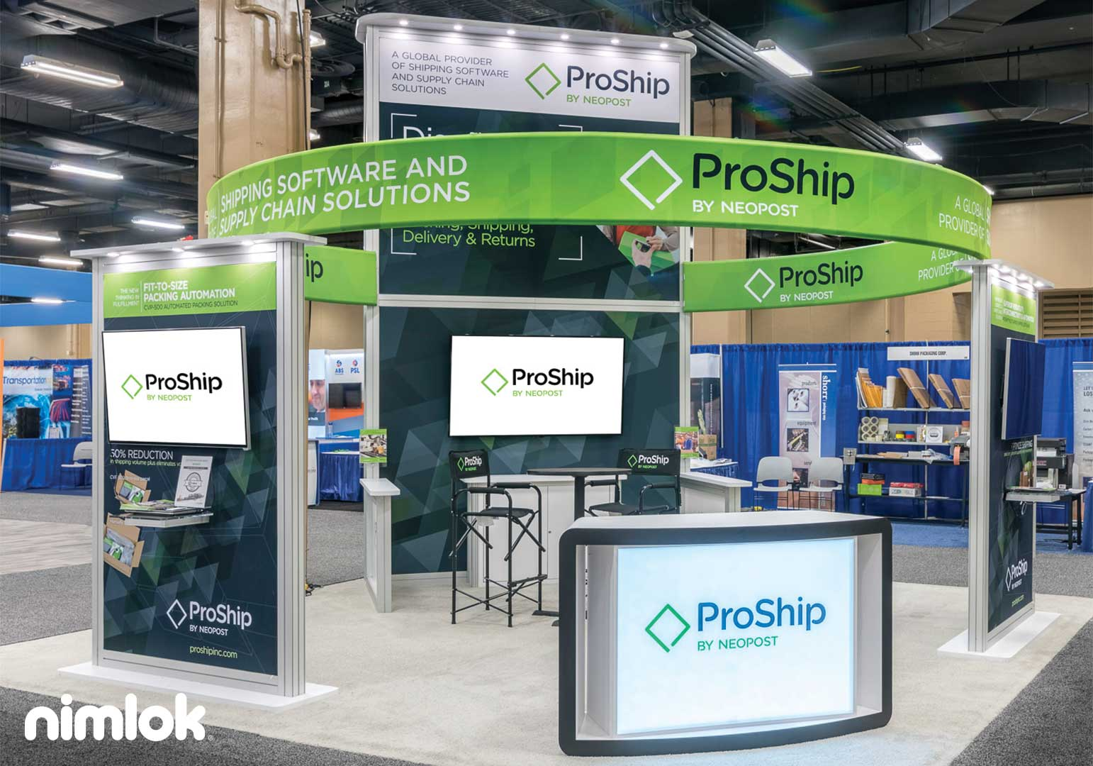 ProShip Reconfigurable Trade Show Exhibit