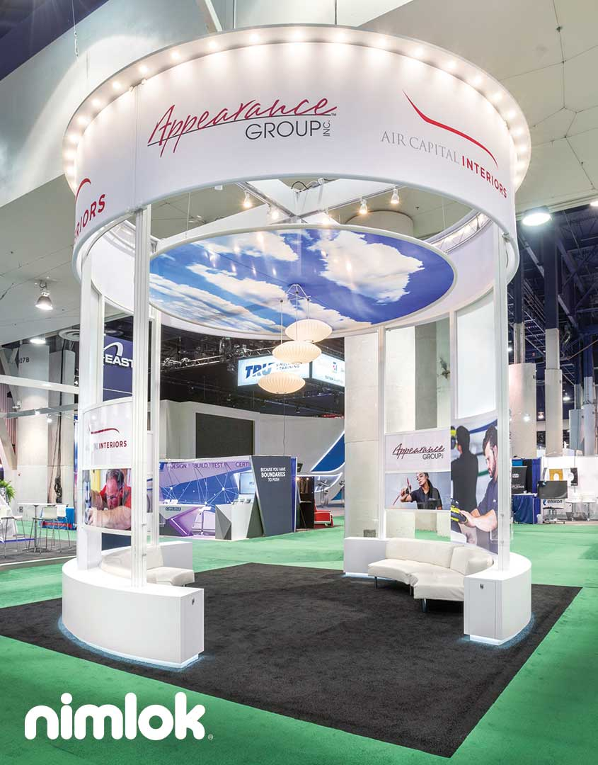 Appearance Group Island Trade Show Booth