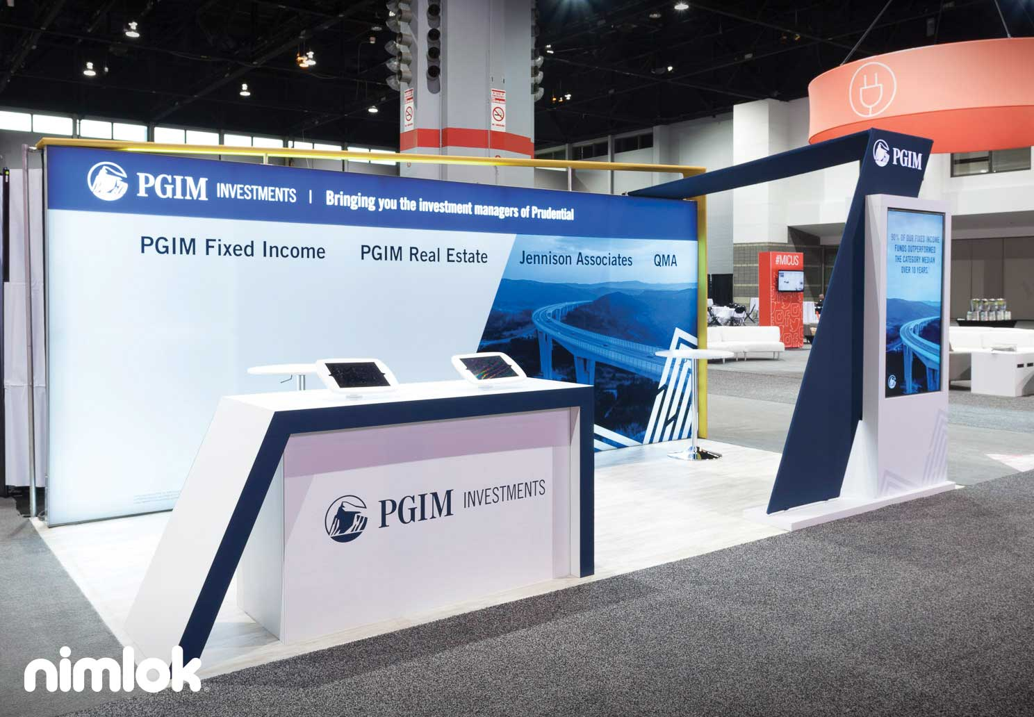 Prudential Inline Trade Show booth