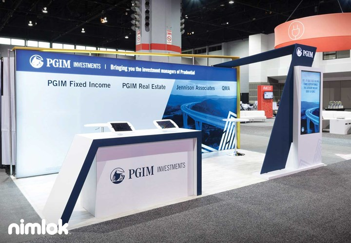Prudential - 10x20 - trade show exhibit