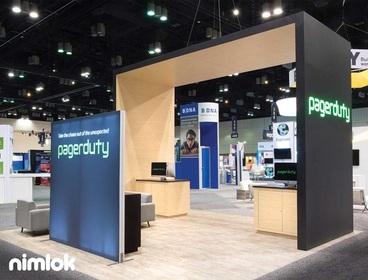 PAGERDUTY - 20x20 - trade show exhibit