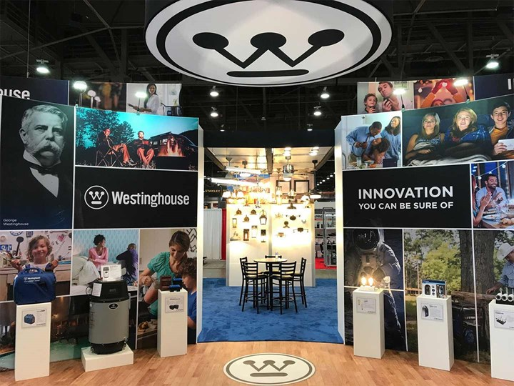 Westinghouse - 30x70 - trade show exhibit