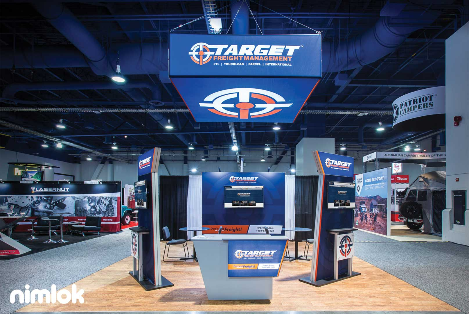 Target Freight Trade Show Booth