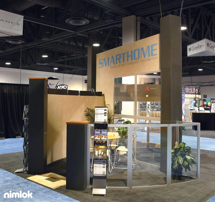 Smarthome  - 20x20 - trade show exhibit