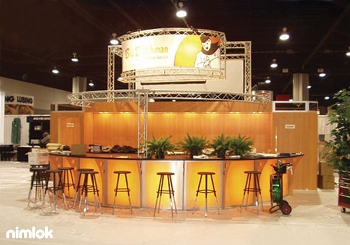 Big Dutchman - 50x140 - trade show exhibit
