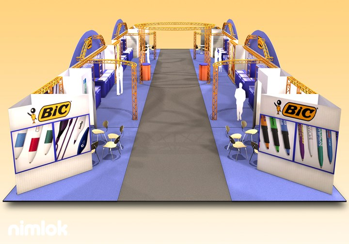 Bic Pen  - Large-Scale - trade show exhibit