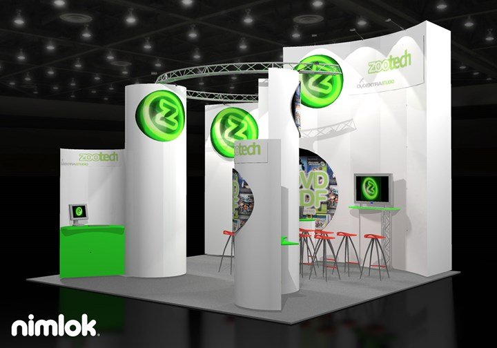 Zoo Digital  - 20x20 - trade show exhibit