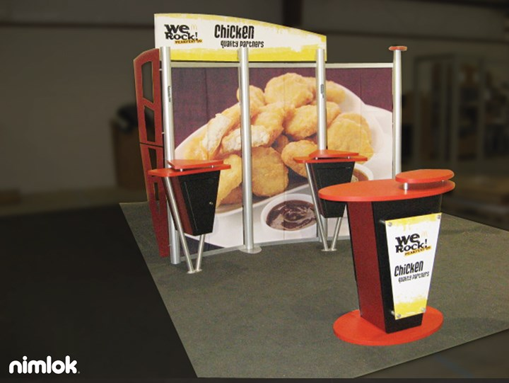 Mcdonalds - 10x10 - trade show exhibit