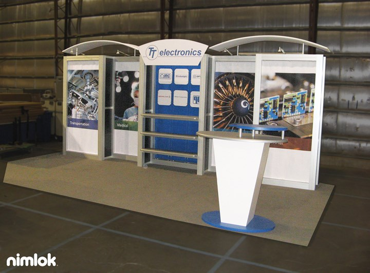 TT Electronics - 10x20 - trade show exhibit
