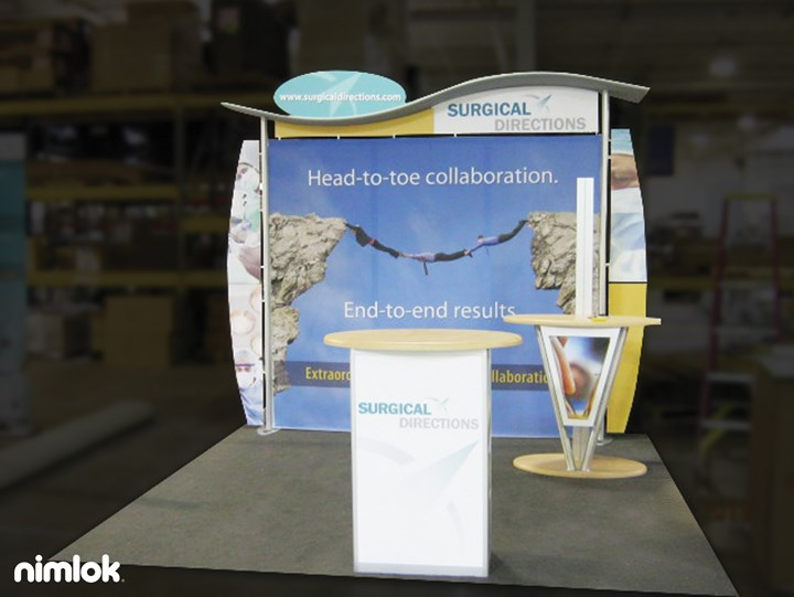 Surgical Directions  - 10x10 - trade show exhibit