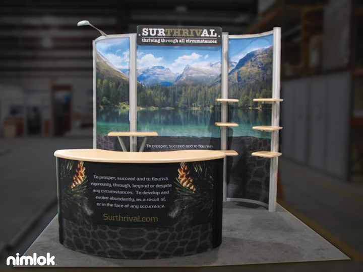 Surthrival - 10x10 - trade show exhibit