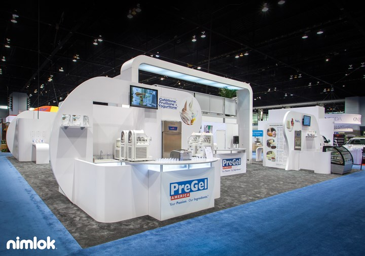 Pregel America - 50x50 - trade show exhibit