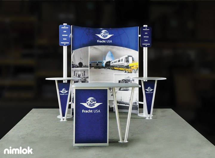 Fracht USA - 10x10 - trade show exhibit