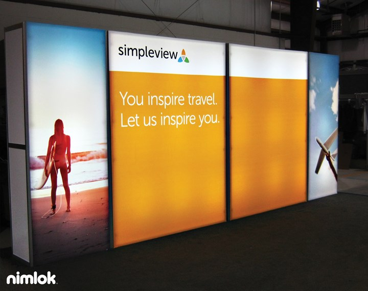 simpleview  - N/A - trade show exhibit