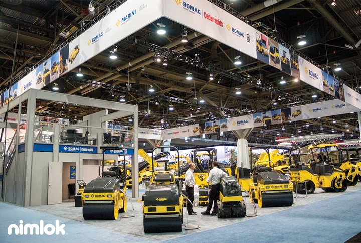 Bomag - Fayat Group - 100x90 - trade show exhibit