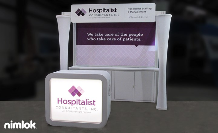 Hospitalist Consultants Inc. - 10x10 - trade show exhibit
