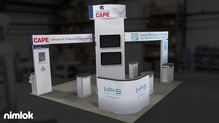 IPS Energy - 20x20 - trade show exhibit