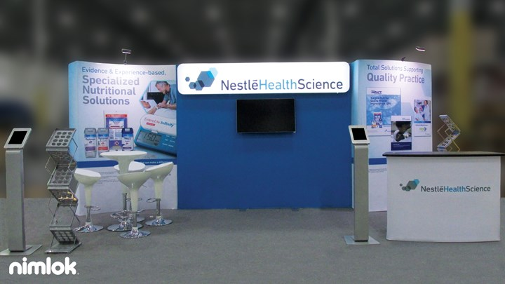 Nestle - 10x20 - trade show exhibit
